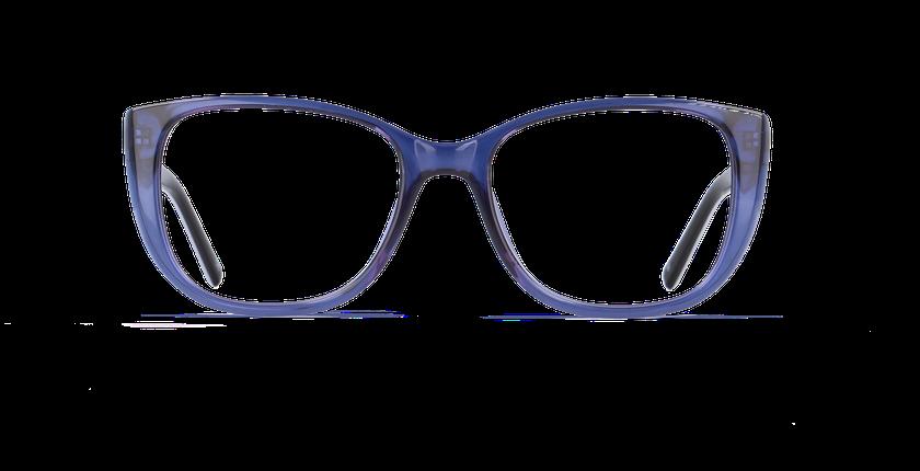 Gafas graduadas mujer GRACE azul - vista de frente