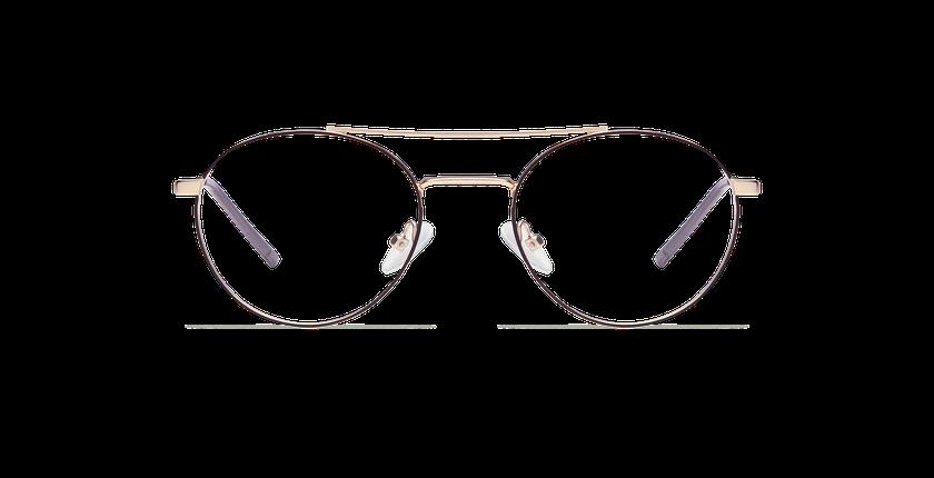 Gafas graduadas hombre MALO dorado - vista de frente