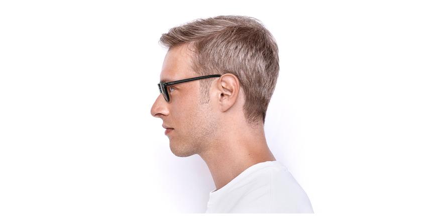 Lunettes de vue homme RENAN noir - Vue de côté