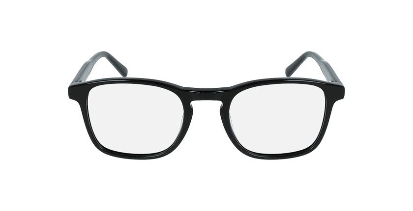 Óculos graduados homem jarod bk (tchin-Tchin +1€) preto - Vista de frente