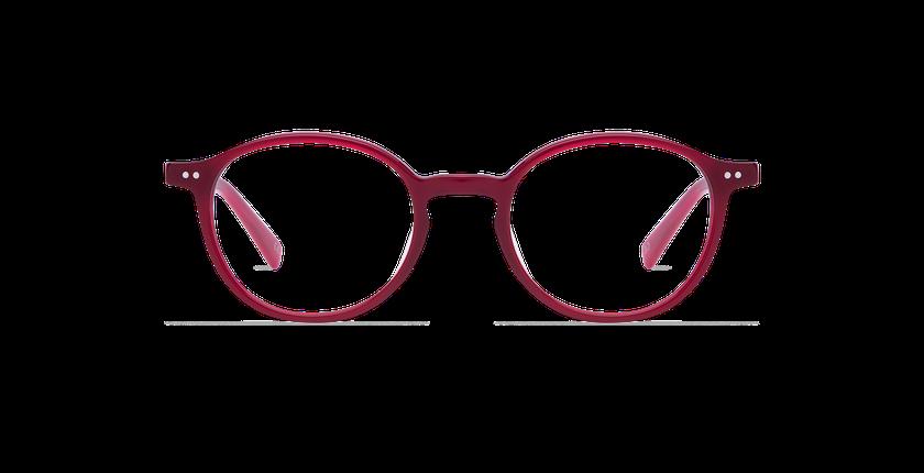 Gafas graduadas hombre RENAN rojo - vista de frente