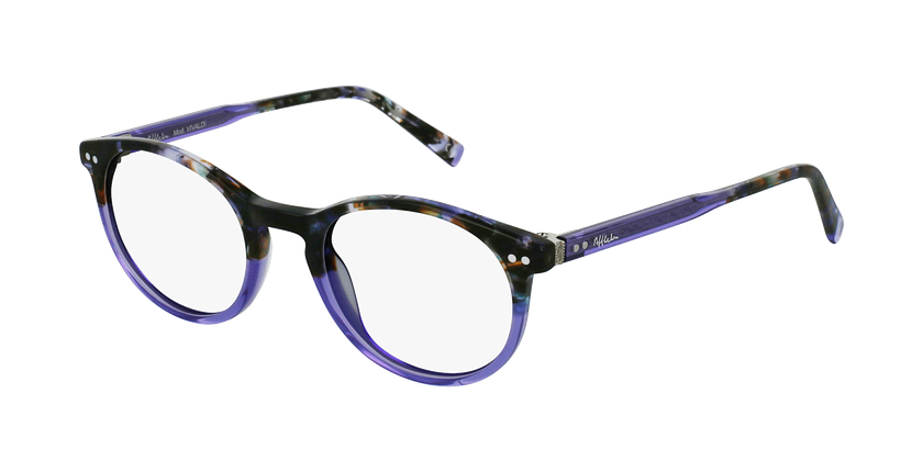 Óculos graduados VIVALDI PU violeta - vue de 3/4