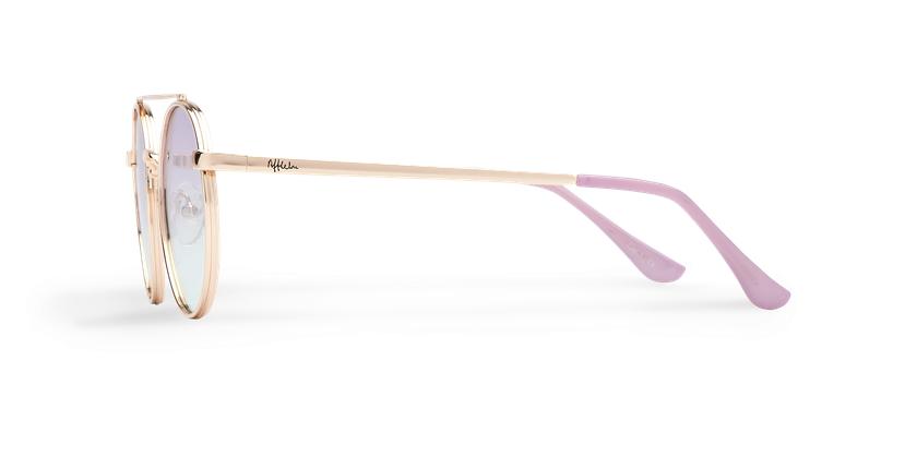Óculos de sol MOHO GDBL dourado/azul - Vista lateral