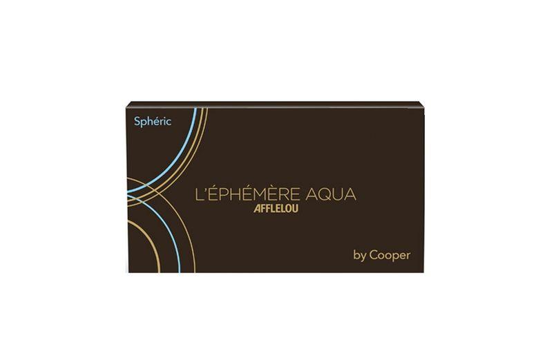 Lentes de contacto Éphémère Aqua Esférica - Mensal 6 unid