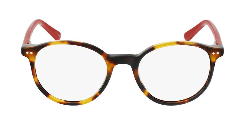 Óculos graduados criança JUDE TORD (TCHIN-TCHIN +1€) tartaruga /vermelho - Vista de frente