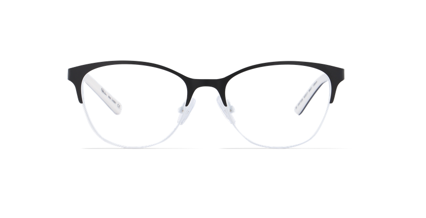 Lunettes de vue femme CASSY noir - Vue de face