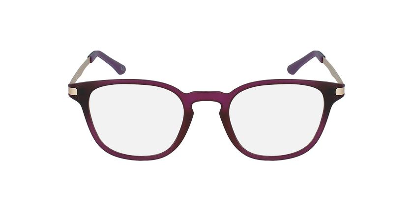 Óculos graduados senhora MAGIC 40 BLUEBLOCK - BLOQUEIO LUZ AZUL violeta - Vista de frente