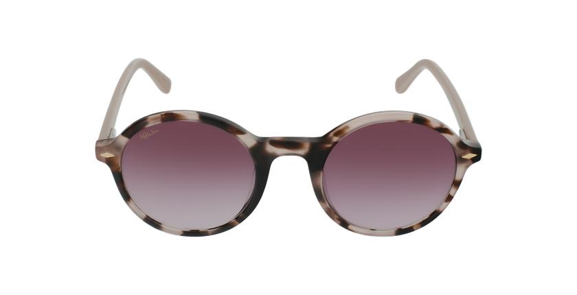 Óculos de sol senhora CALYPSO TOPK tartaruga /rosa - Vista de frente