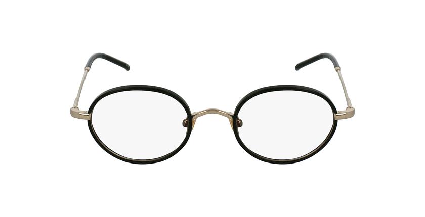 Óculos graduados PUCCINI BK dourado/preto - Vista de frente