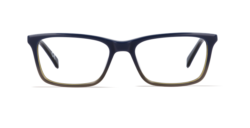 Gafas graduadas hombre CALVIN KLEIN JEANS azul - vista de frente