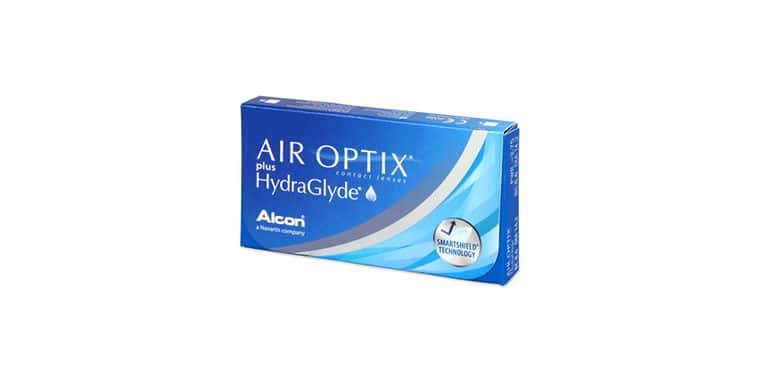 Lentes de contacto Air Optix Plus HydraGlyde® 6L