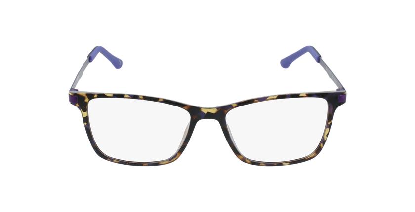 Lunettes de vue femme MAGIC 61 BLUEBLOCK écaille/violet - Vue de face