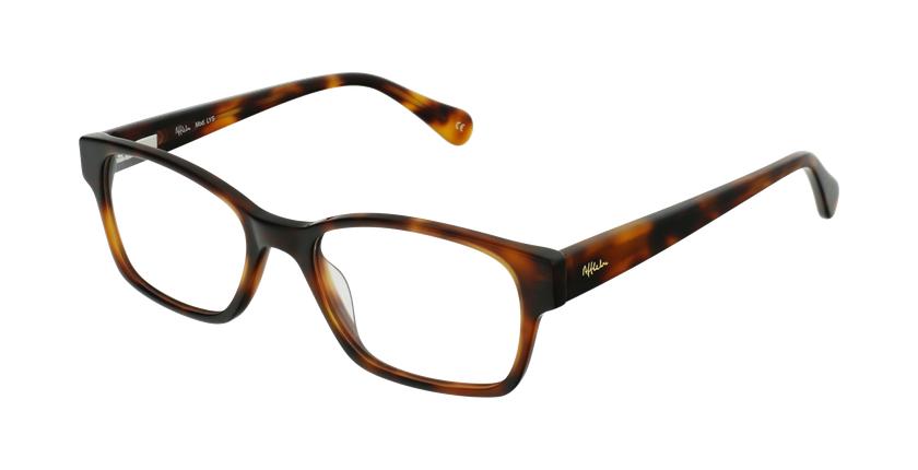 Óculos graduados senhora LYS TO (TCHIN-TCHIN +1€) tartaruga - vue de 3/4