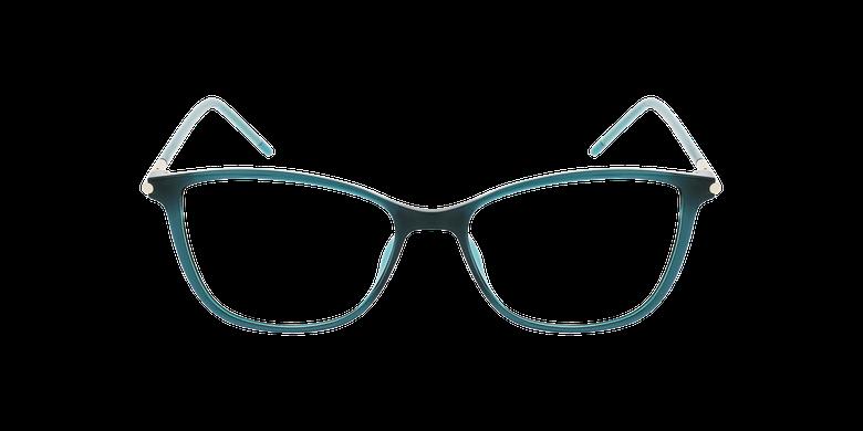 Lunettes de vue femme MAGIC 89 vertVue de face