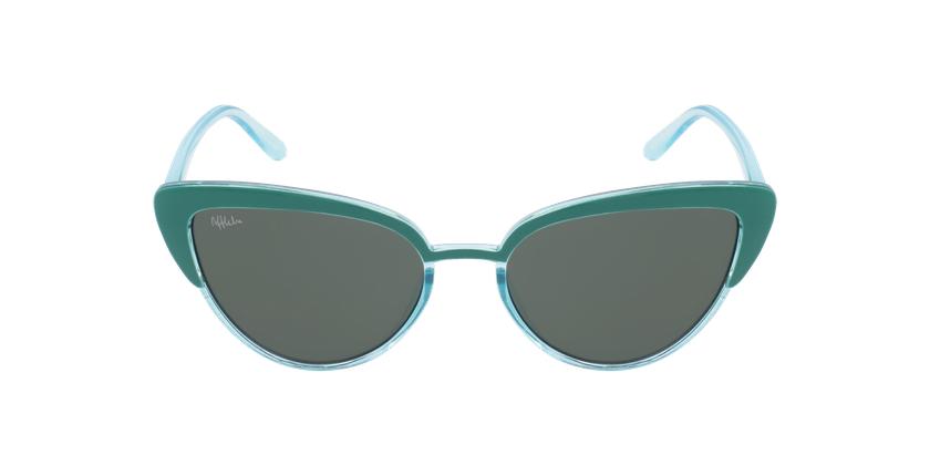 Óculos de sol criança LUPITA GR verde - Vista de frente