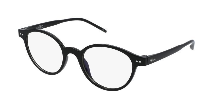 Lunettes de vue femme MAGIC 49 BLUEBLOCK noir - vue de 3/4