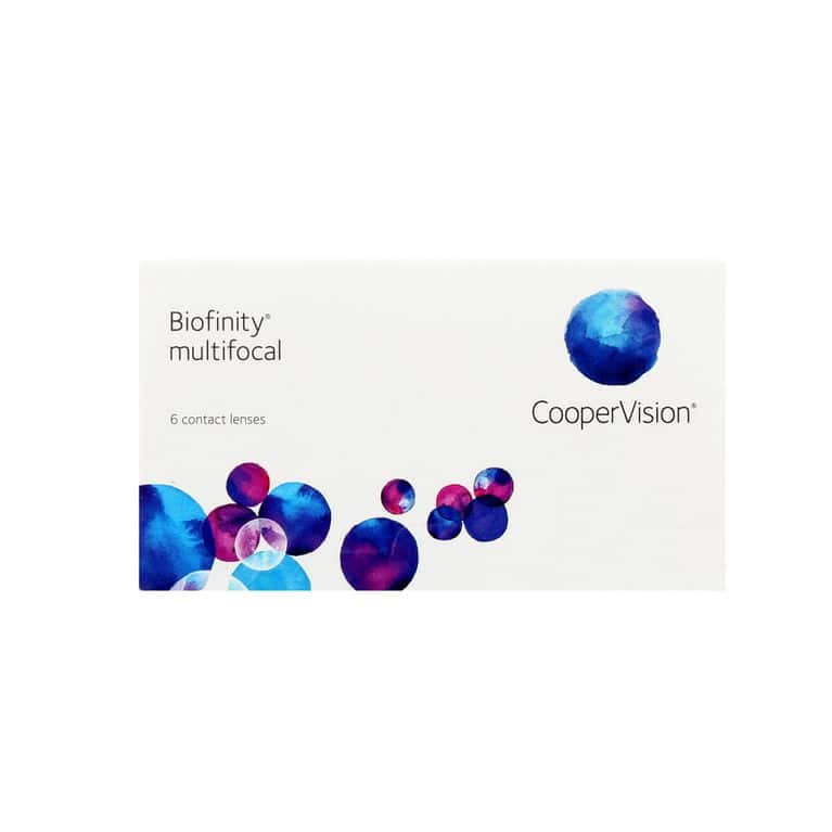 Lentilles de contact Biofinity® multifocal D 6L