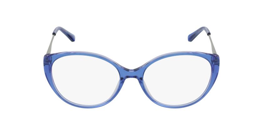 Óculos graduados senhora LIVIA BL (TCHIN-TCHIN +1€) azul - Vista de frente
