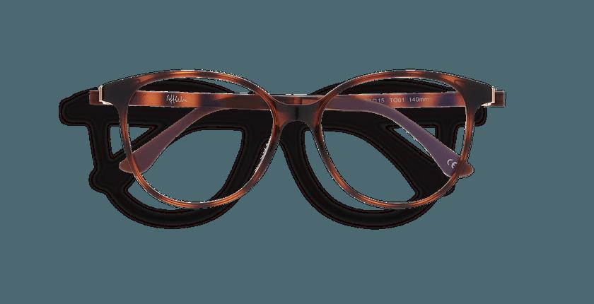 d19354056 ... Óculos graduados senhora MAGIC 29 TO01 tartaruga - Vista de frente ...