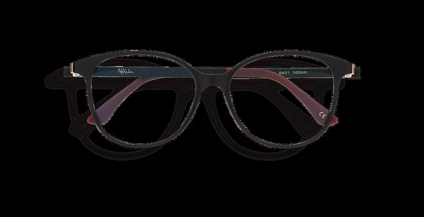 Lunettes de vue femme MAGIC 29 BLUEBLOCK noir - Vue de face