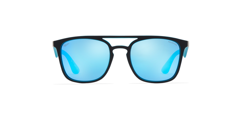 Óculos de sol OSTUNI POLARIZED preto/azul - Vista de frente