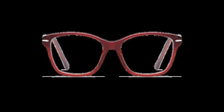 Óculos graduados senhora LADOYE azul/vermelho