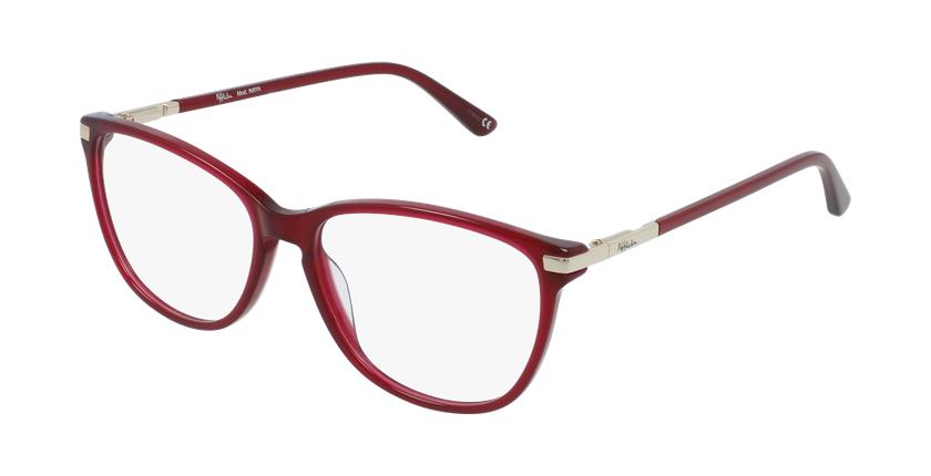 Lunettes de vue femme OAF20520 rouge - vue de 3/4
