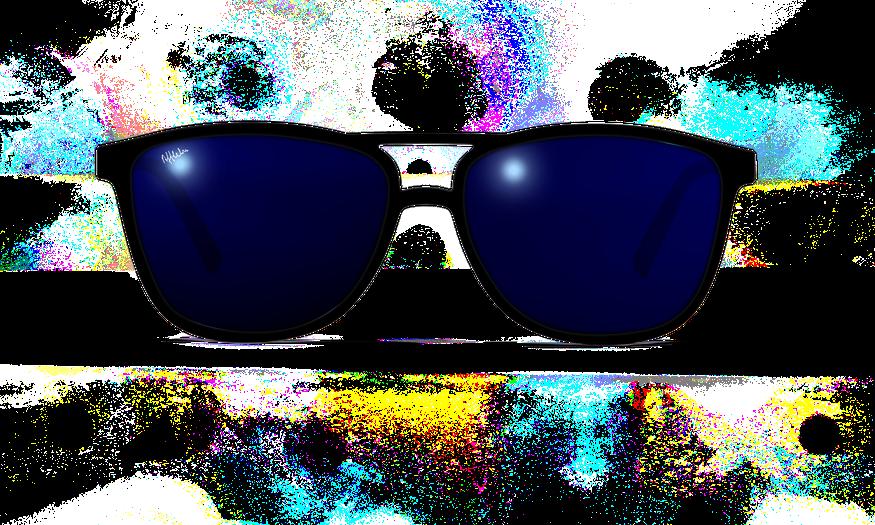 Lunettes de soleil homme SOLIS noir