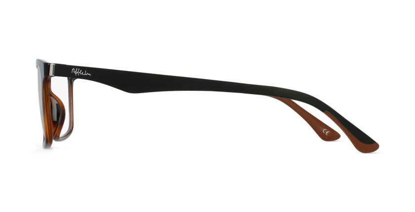 Óculos graduados homem MAGIC 32 TO01 BLUEBLOCK - BLOQUEIO LUZ AZUL tartaruga  - Vista lateral