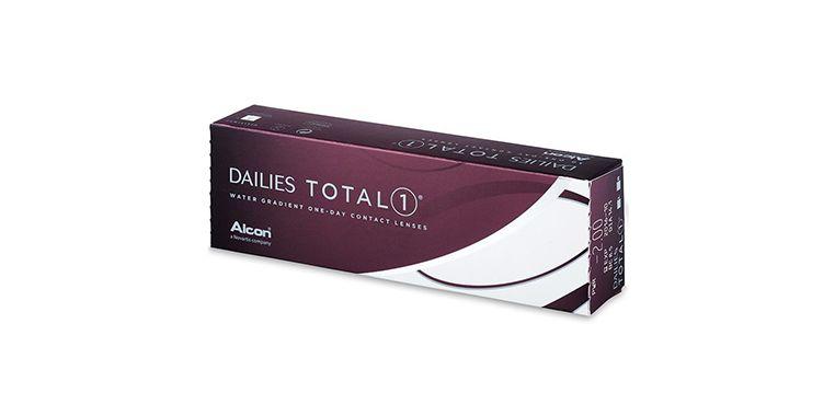 Lentilles de contact Dailies Total 1 30L