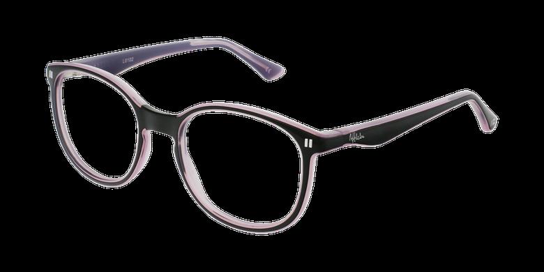 Óculos graduados criança REFORM TEENAGER (J5 BKPK) preto/violeta