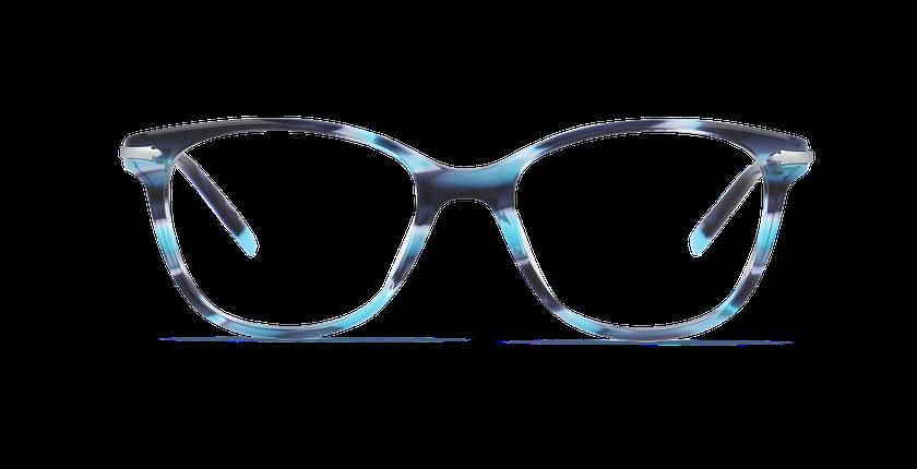 Lunettes de vue femme WATERFORD bleu - vue de face