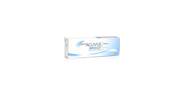 Lentilles de contact 1 Day Acuvue Moist 30L