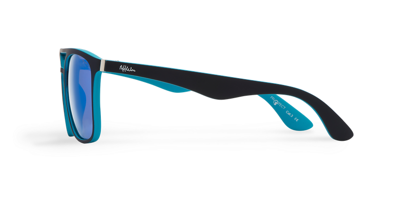 Óculos de sol OSTUNI POLARIZED preto/azul - Vista lateral