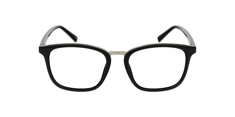 Lunettes de vue homme PAULO noir/argenté