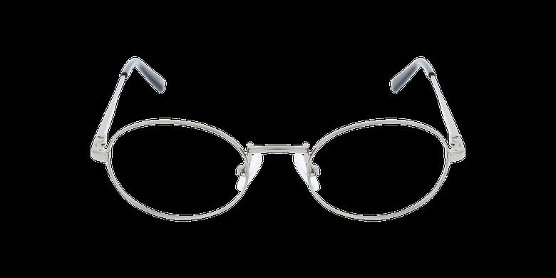 Lunettes de vue NEIL argentéVue de face