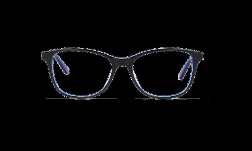 Lunettes de vue femme MADY noir/bleu