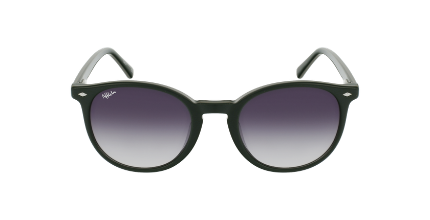 Óculos de sol homem CLINT GR verde - Vista de frente