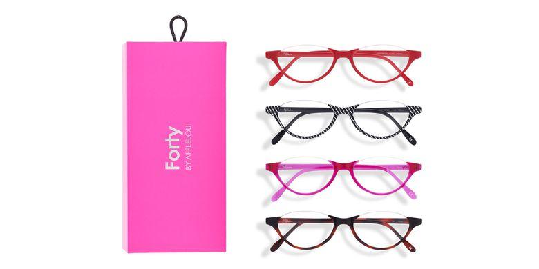 Óculos graduados FORTY PACK ROSA PRÉ GRADUADOS  (DE +1.00 A +3.00) rosa