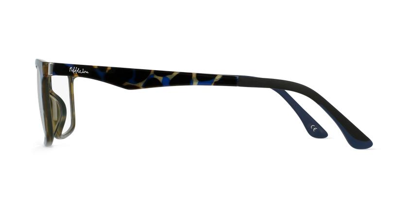 Lunettes de vue homme MAGIC 32 BLUEBLOCK écaille/bleu - Vue de côté