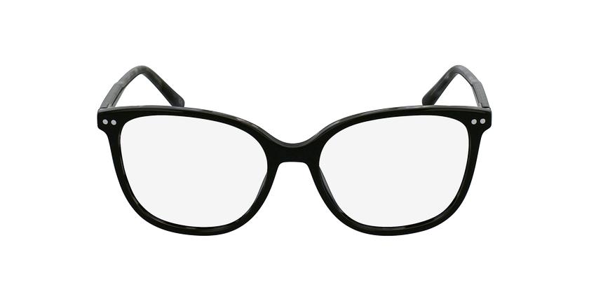 Lunettes de vue femme MOZART noir - Vue de face
