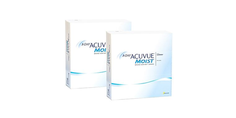 Lentilles de contact 1 Day Acuvue® Moist® 180L