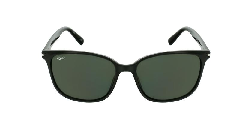 Óculos de sol GAVA BK preto - Vista de frente