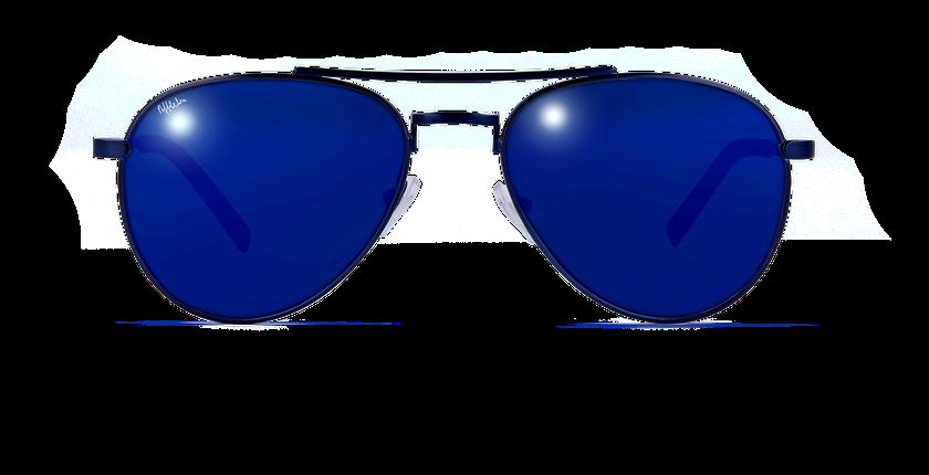 Lunettes de soleil CHAYO bleu - vue de face
