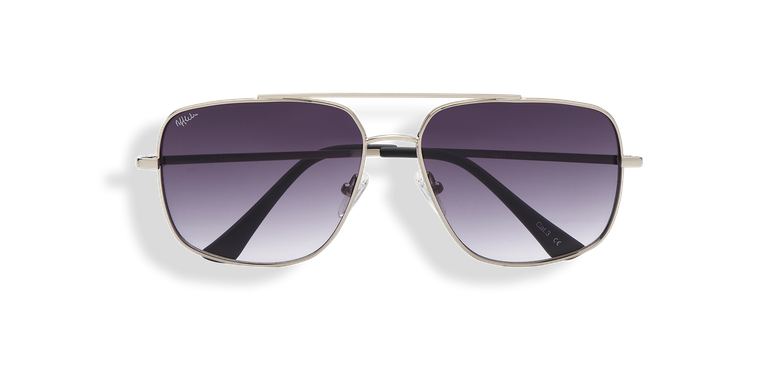 Óculos de sol homem PACHO (Tchin-Tchin +1€) prateado