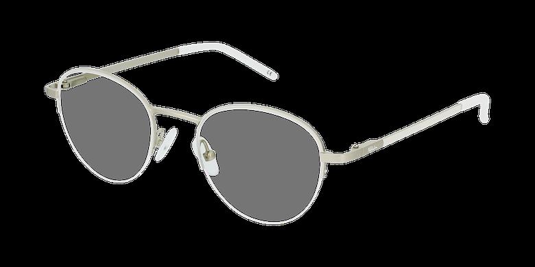 Óculos graduados senhora DOMI WH (TCHIN-TCHIN +1€) branco/dourado