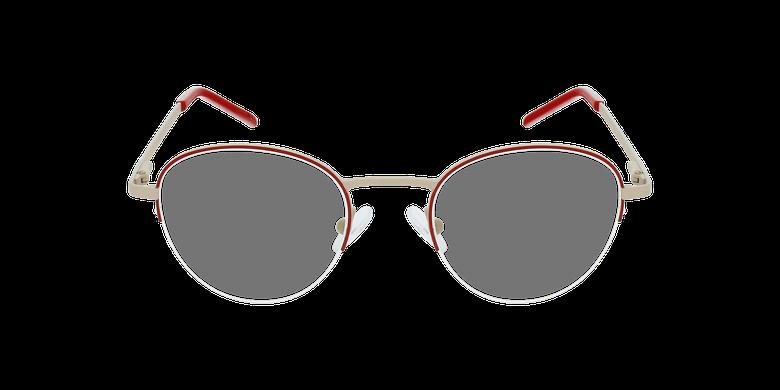 Óculos graduados senhora DOMI RD (TCHIN-TCHIN +1€) vermelho