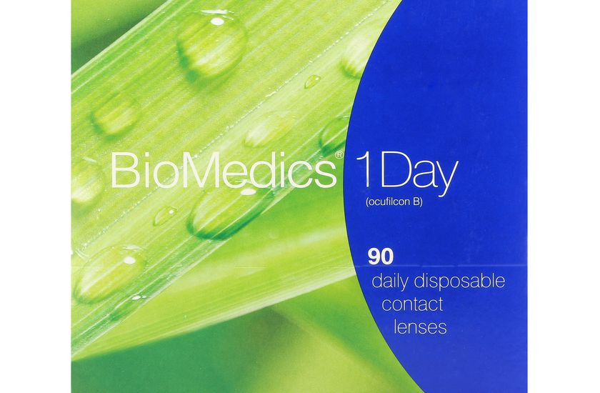 Lentilles de contact Biomedics® 1day 90L - vue de face