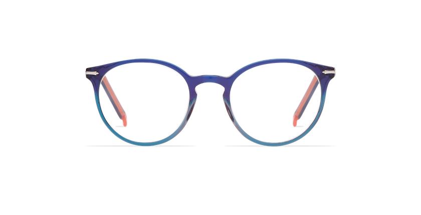 Óculos graduados senhora OYOANNAX azul/verde - Vista de frente