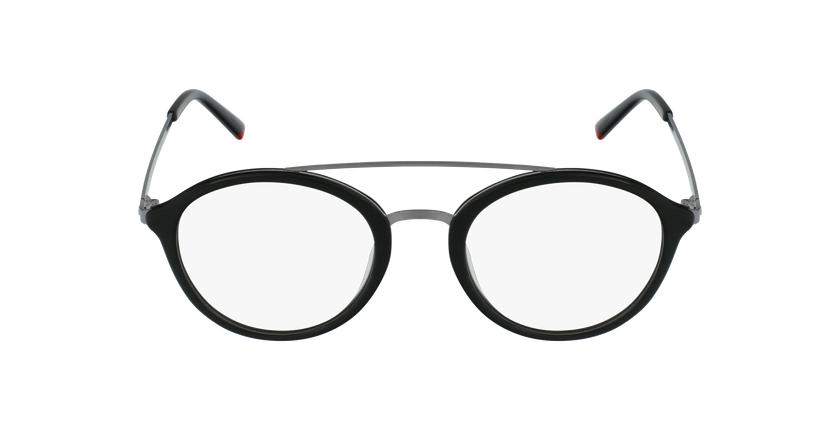 Óculos graduados ROSSINI BK preto - Vista de frente